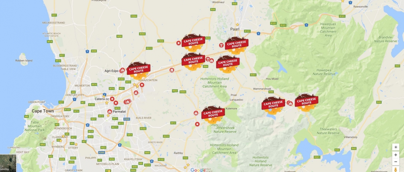Cape Cheese Route and Tours