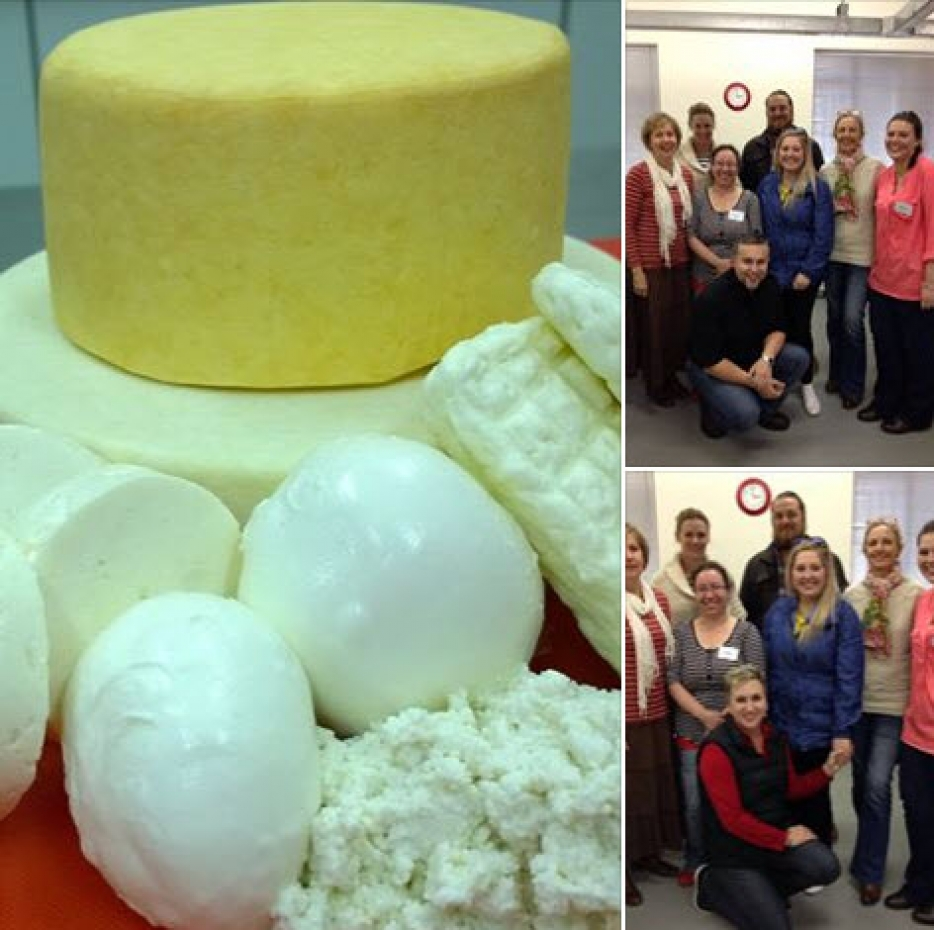 Sept 2016 Cheese Making Course, STB