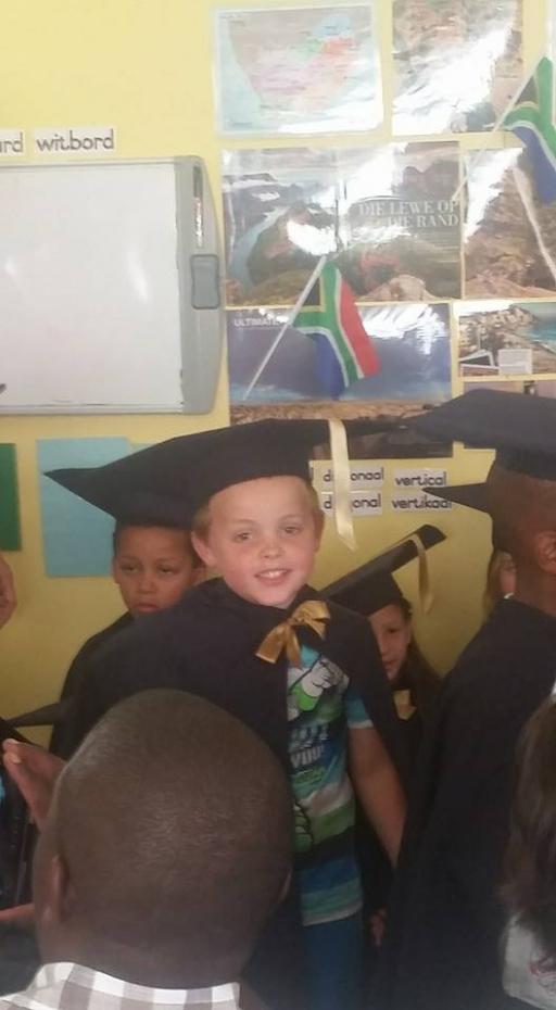 Luke Allen Graduation