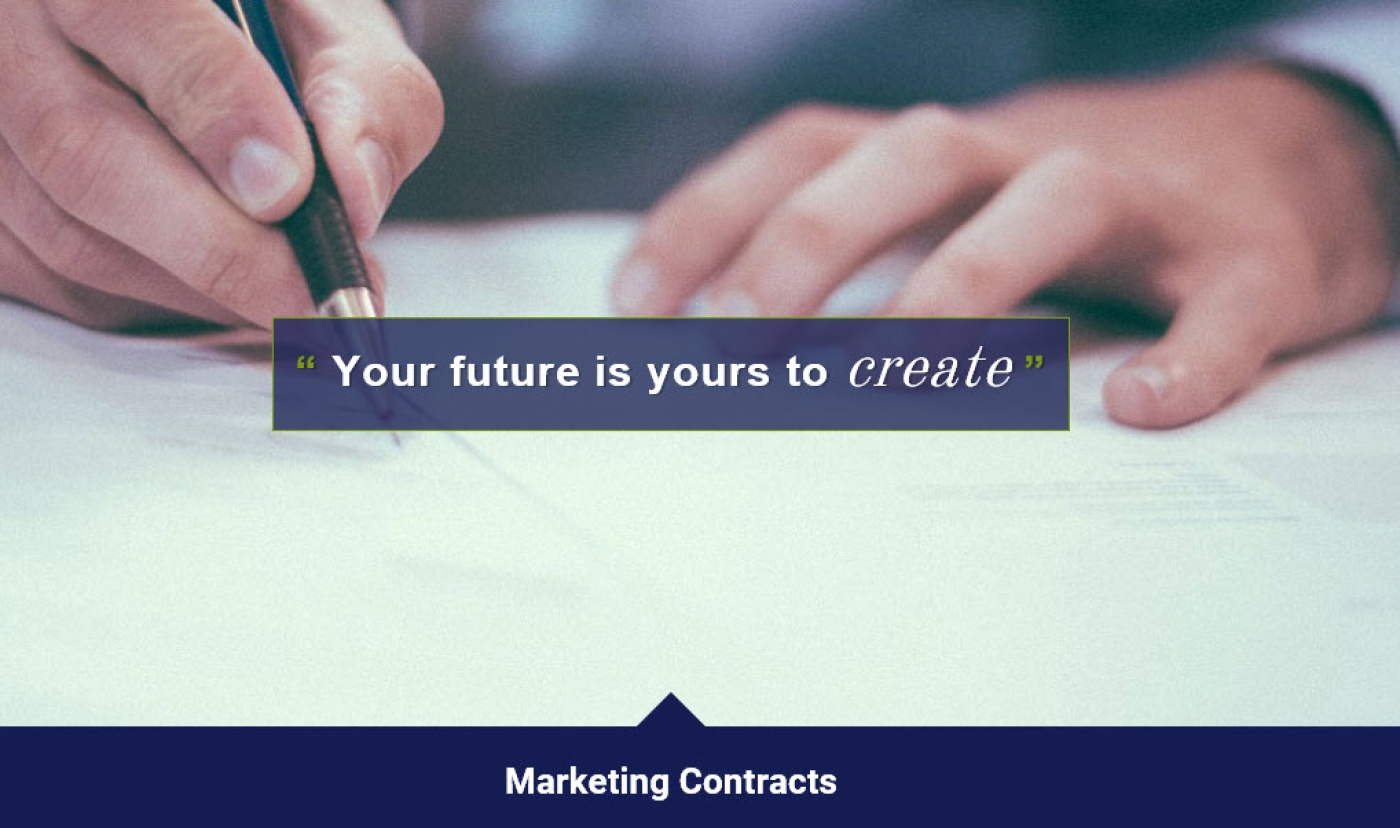 Marketing Contracts