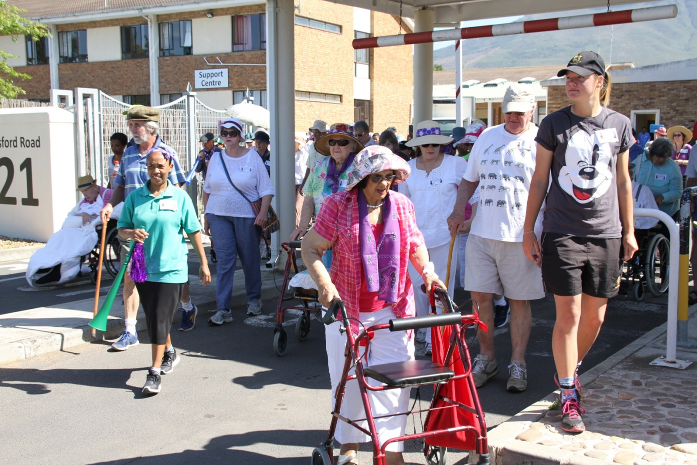Active Ageing at the Big Walk