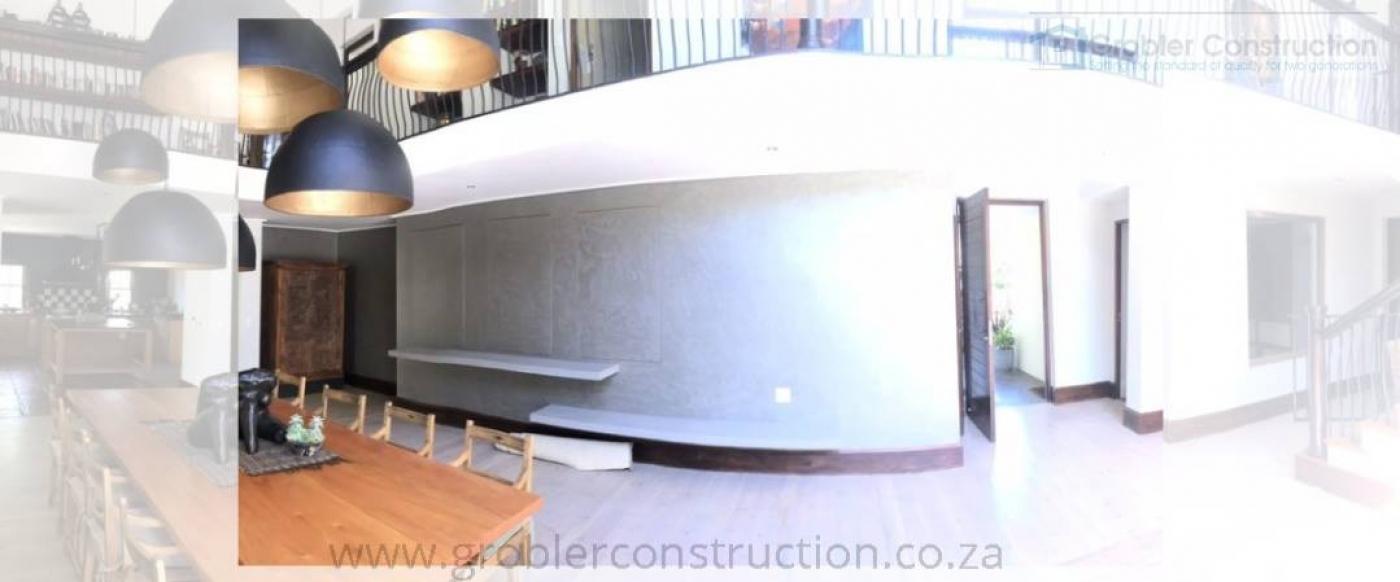 Dining Area — in Stellenbosch, Western Cape.