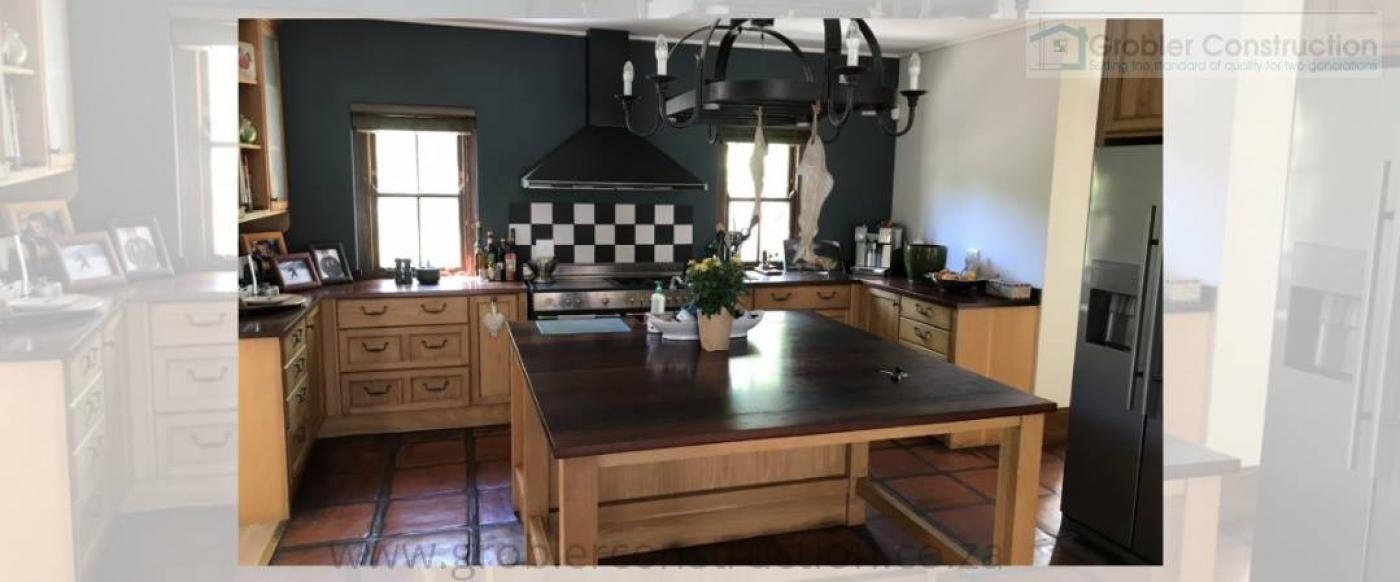 Kitchen — in Stellenbosch, Western Cape.