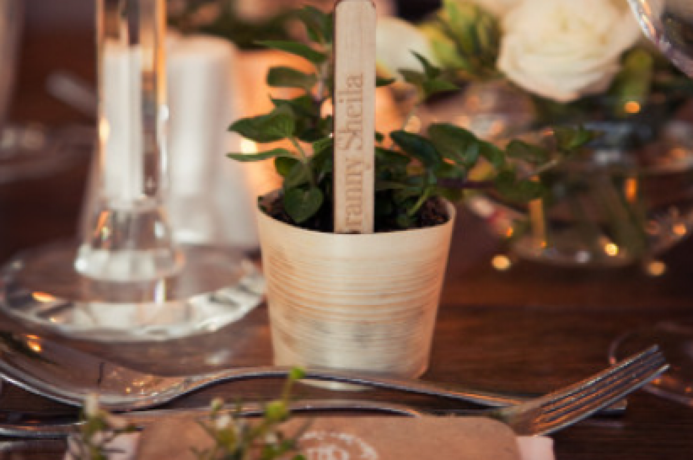 Immaculate Table Dressing and Finishes