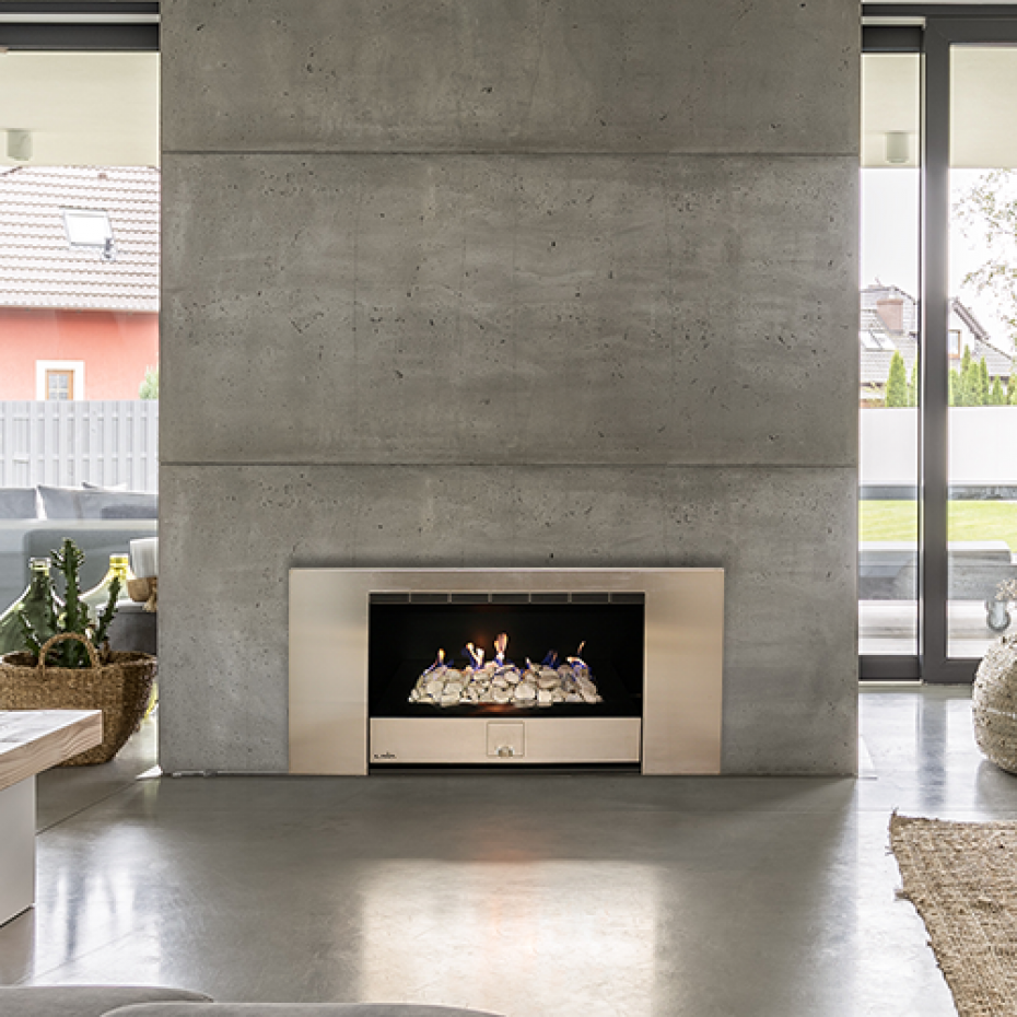Built In – Vent Free Gas Fireplace
