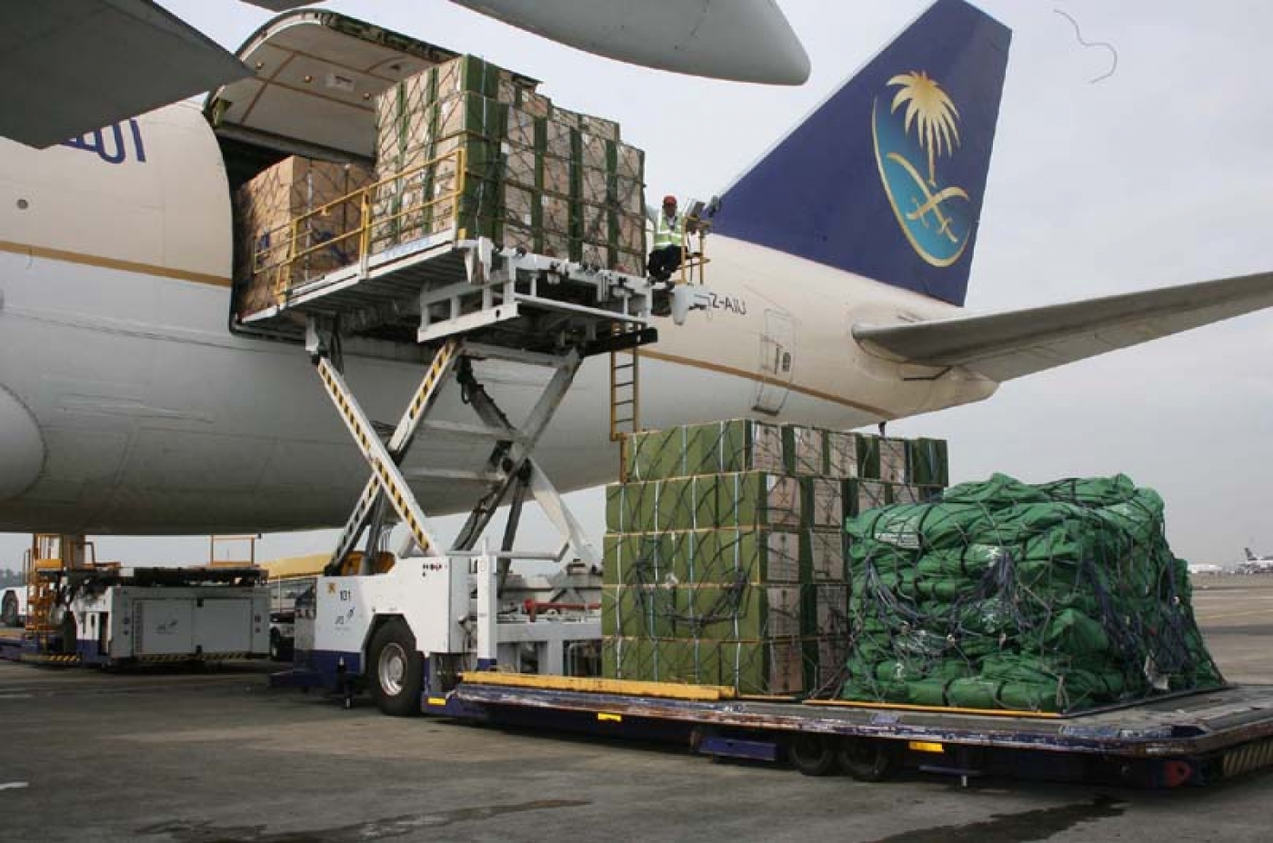 Air Side Cargo Monitoring