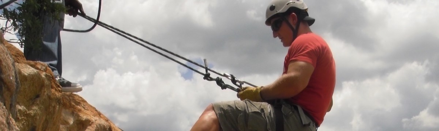 Abseiling and River Rafting for Two