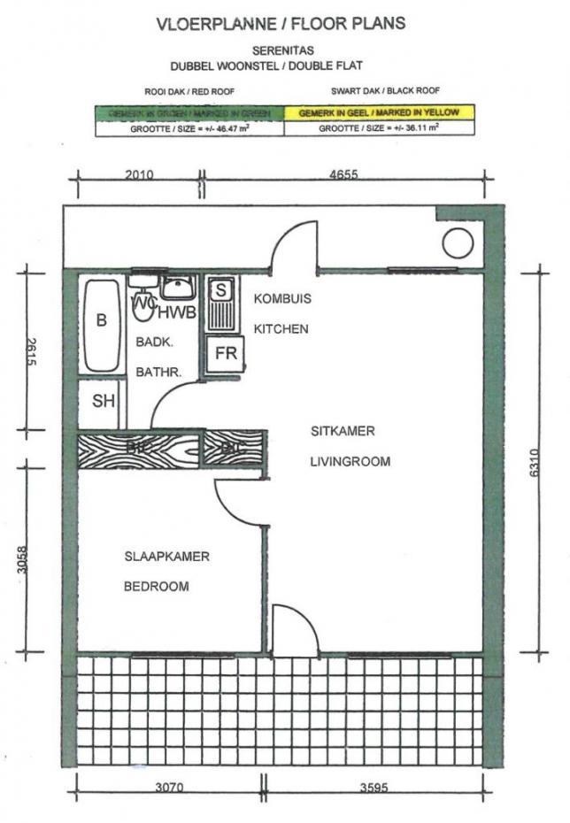Floor Plans Double Unit