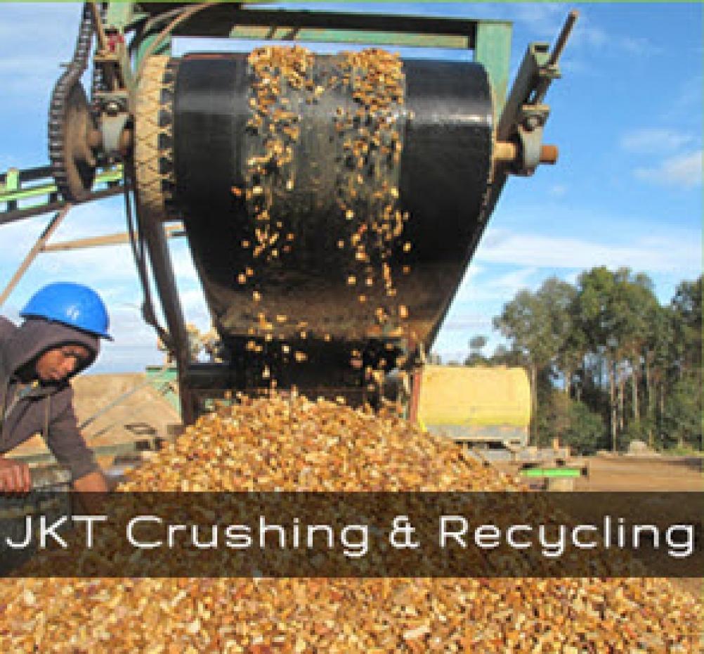 Crushing & Recycling