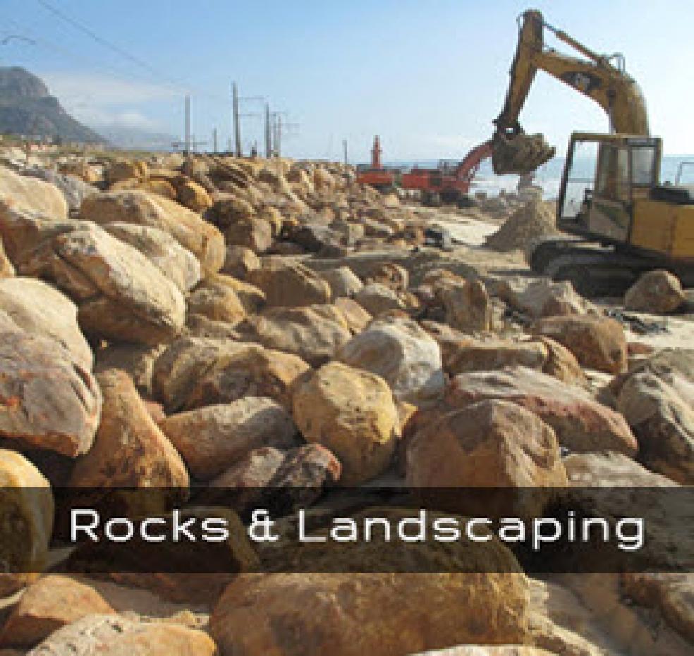 Rocks & Landscaping