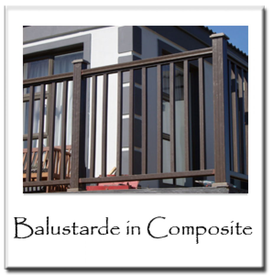 Balustrade in Composite