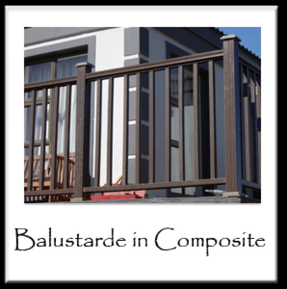 Balustrade in Composite
