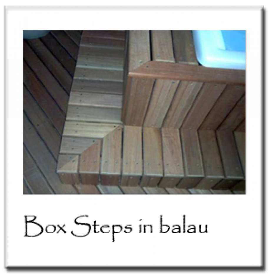 Box Steps in Balau