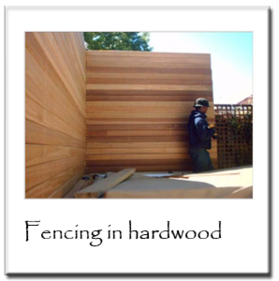 Fencing in Hard Wood