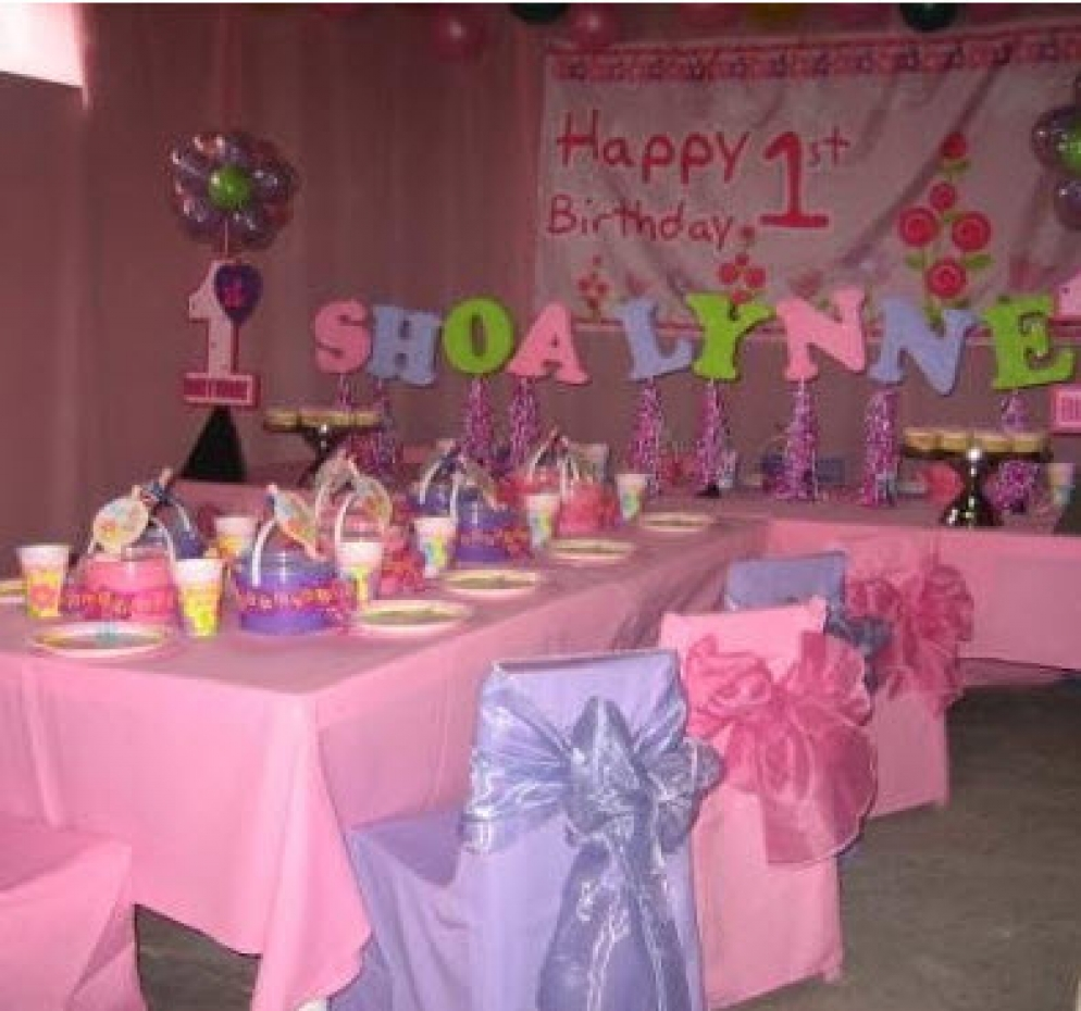 1st Girl Party