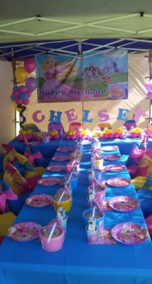 Barbie and the three Musketeers Party