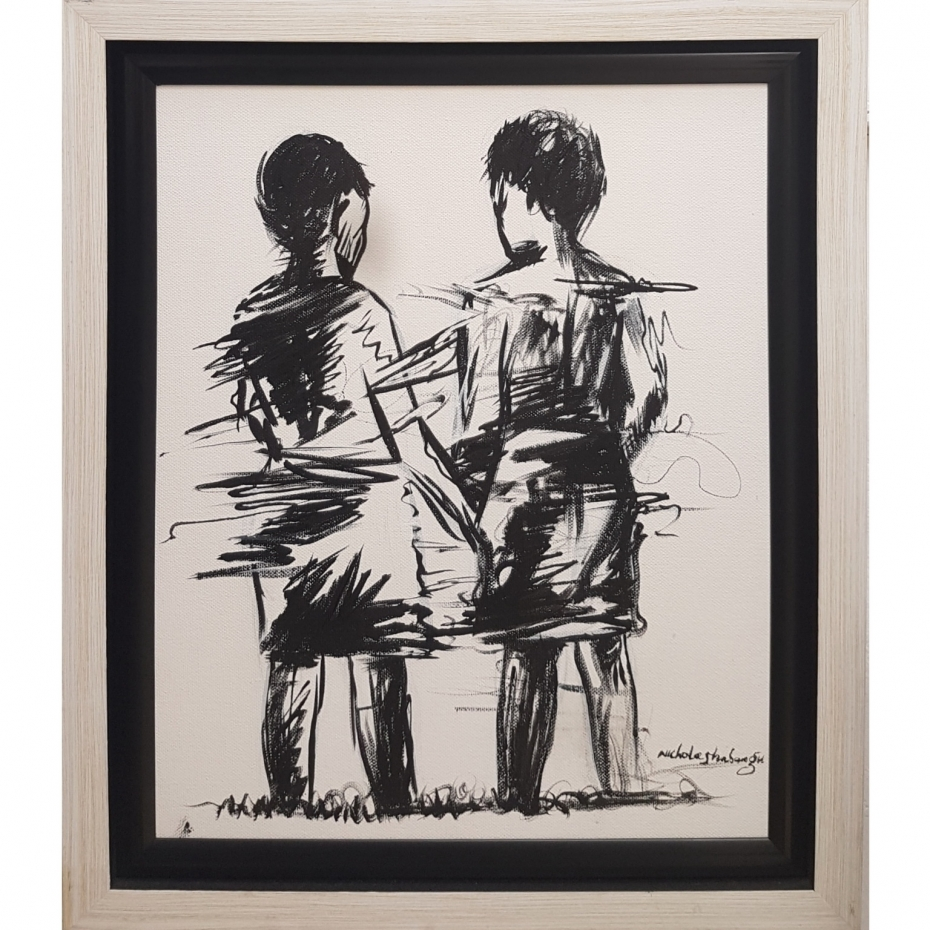 Nicholas Shabangu - Black & White