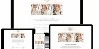 Web Design & SEO - Wedding Dress Boutique