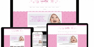 Ecommerce Web Design - Baby Products