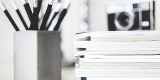 Magazines Desk Work Workspace