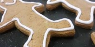 Ginger Bread Man Biscuits
