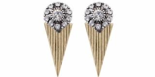 Calypso Burnished Gold Earrings (E4600)