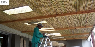 Real Reed Ceilings