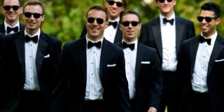 Black with-sunglasses-for-groomsmen