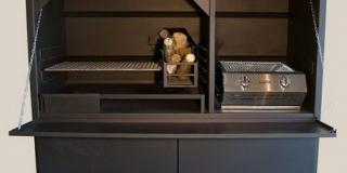 1500 Combo braai + Cabinet