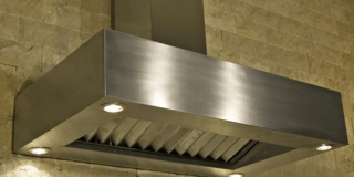 304 Stainless Steel Square Frame Braai Canopy
