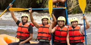 River Rafting on the Vaal River
