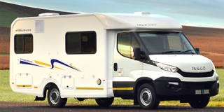 Discoverer 4 berth de luxe camper