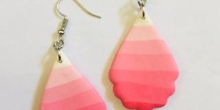 Pink Rainbow Droplets