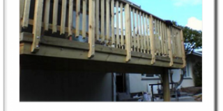 Balustrade in Pine