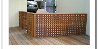 Lattice in Hard Wood