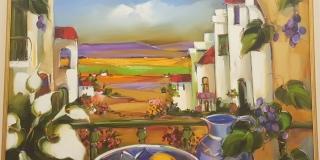Charmaine Gelderblom - Tuscan scene