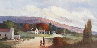 Luther Marias - Farm scene