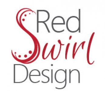 Red Swirl Design