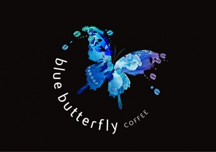 Blue Butterfly Mobile Coffee